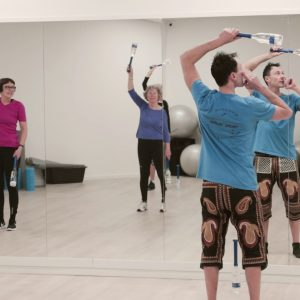 Learn how to run your own Indian clubs classes with heroic sport