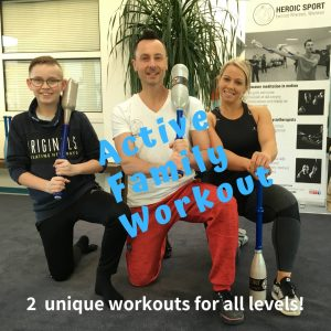indian clubs circuit training for family
