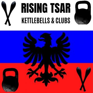 kettlebell workout with Indian clubs