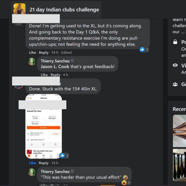 Indian club challenge review #2