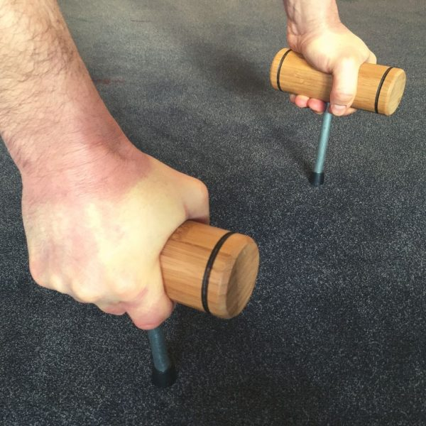push up handles on spikes