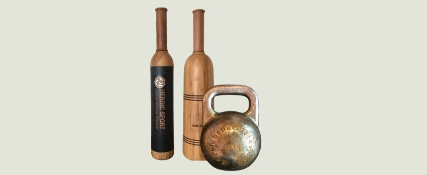 5 indian club exercises with a kettlebell